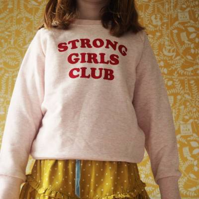 Strong Girls Club Sweater