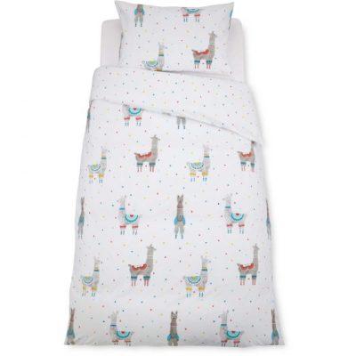 Hot on the high street: Aldi llama bedding