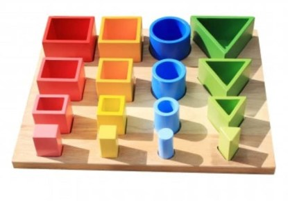 3D sorting board for toddlers