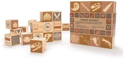 fossil blocks by uncle goose