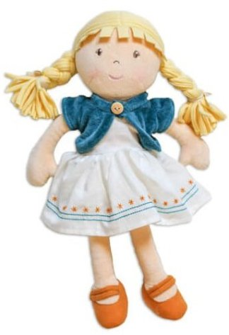 lily organic cotton doll