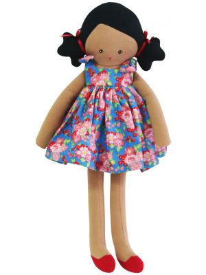 blue willow doll