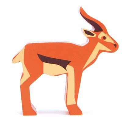 wooden antelope tenderleaf toys