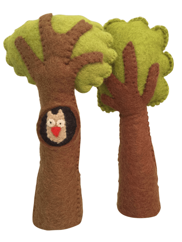 papoose felt trees