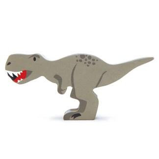tyrannosaurus rex tender leaf wooden aninmal dinosaurs