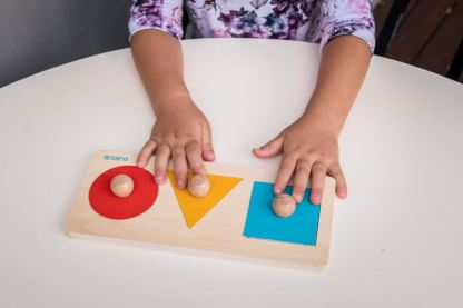 square circle and triangle shape puzzles