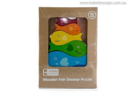 stacking fish puzzle with chunky stacking pieces