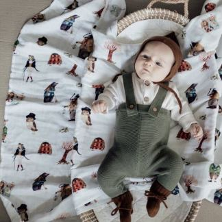 friends of the forest popyaatot swaddle