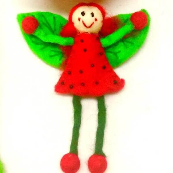 himalayan journeu felt strawberry fairy