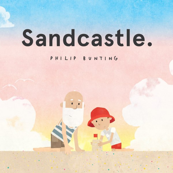 sandcastle book bunting
