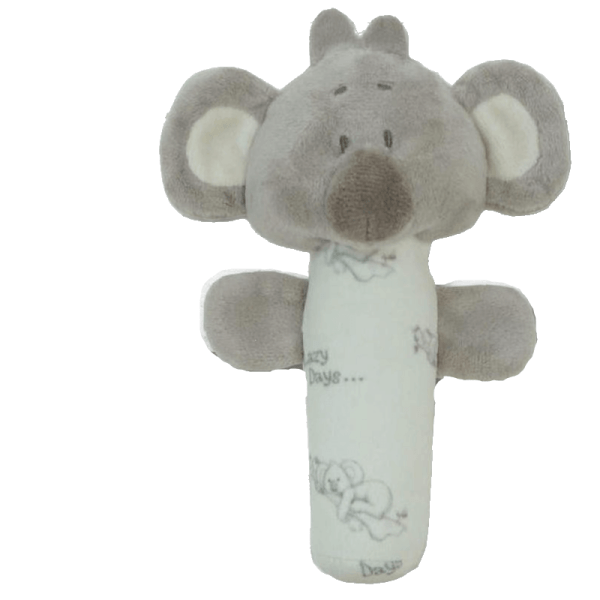 17cm koala hand held stick rattle (2)