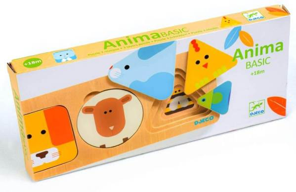 animabasic djeco animal shape