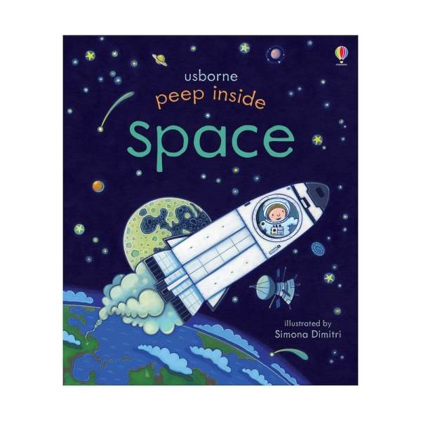 peep inside space book