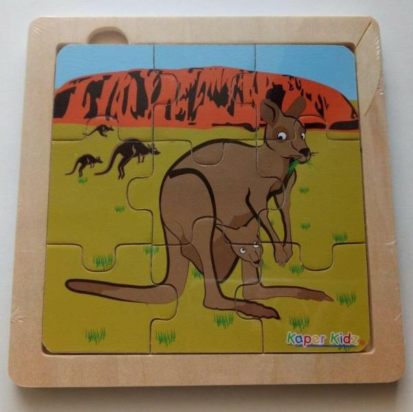 kangaroo and uluru puzzle
