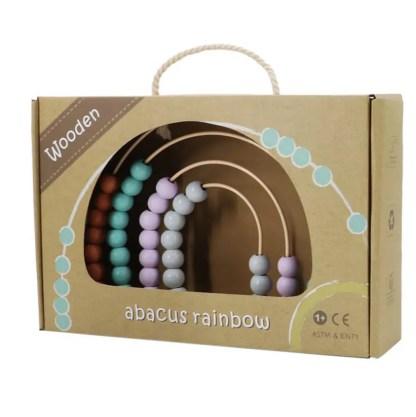 calm and breezy rainbow arch abacus