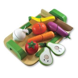 fruit cutting set with tray discoveroo
