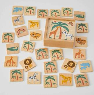 memory game african animals