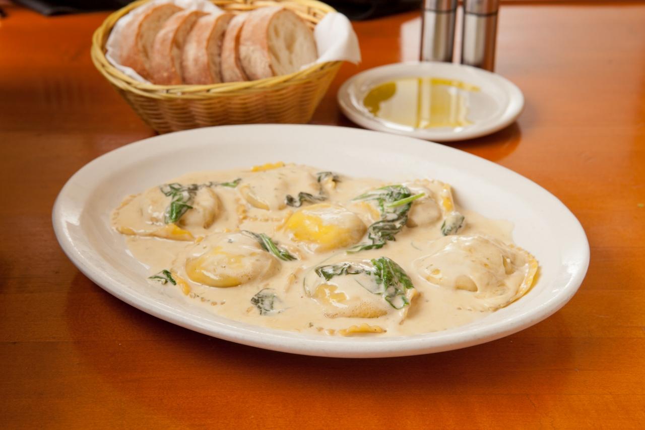Bambinos Portabello Ravioli - Springfield MO Restaurant