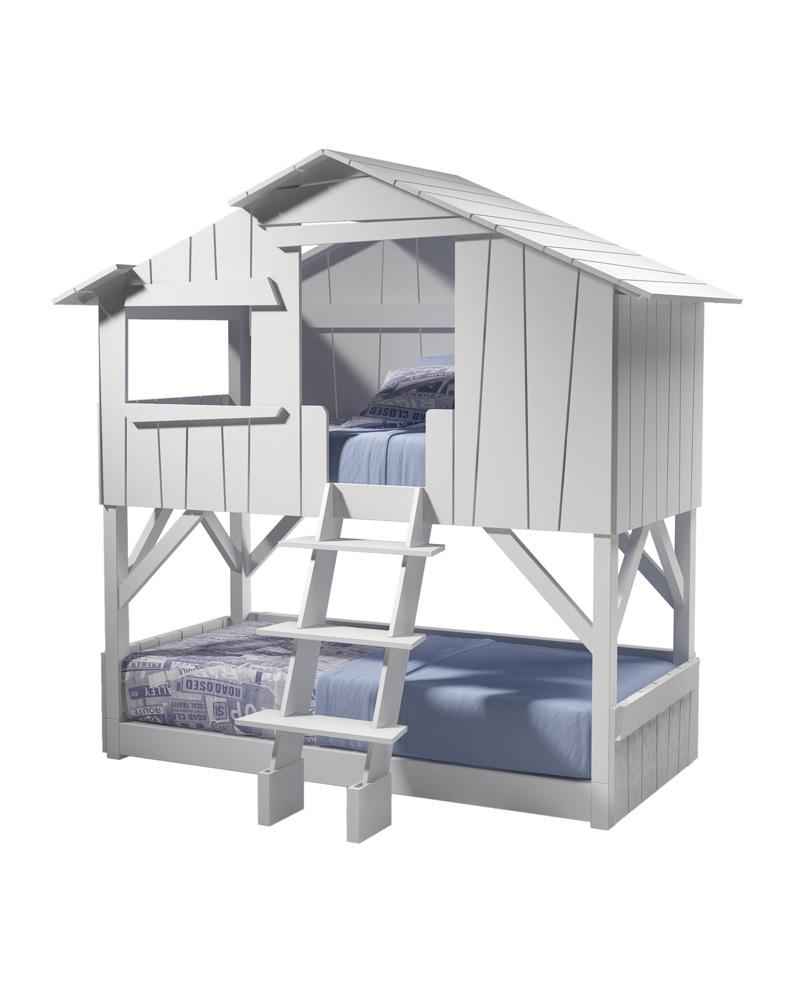 lit enfant cabane superpose