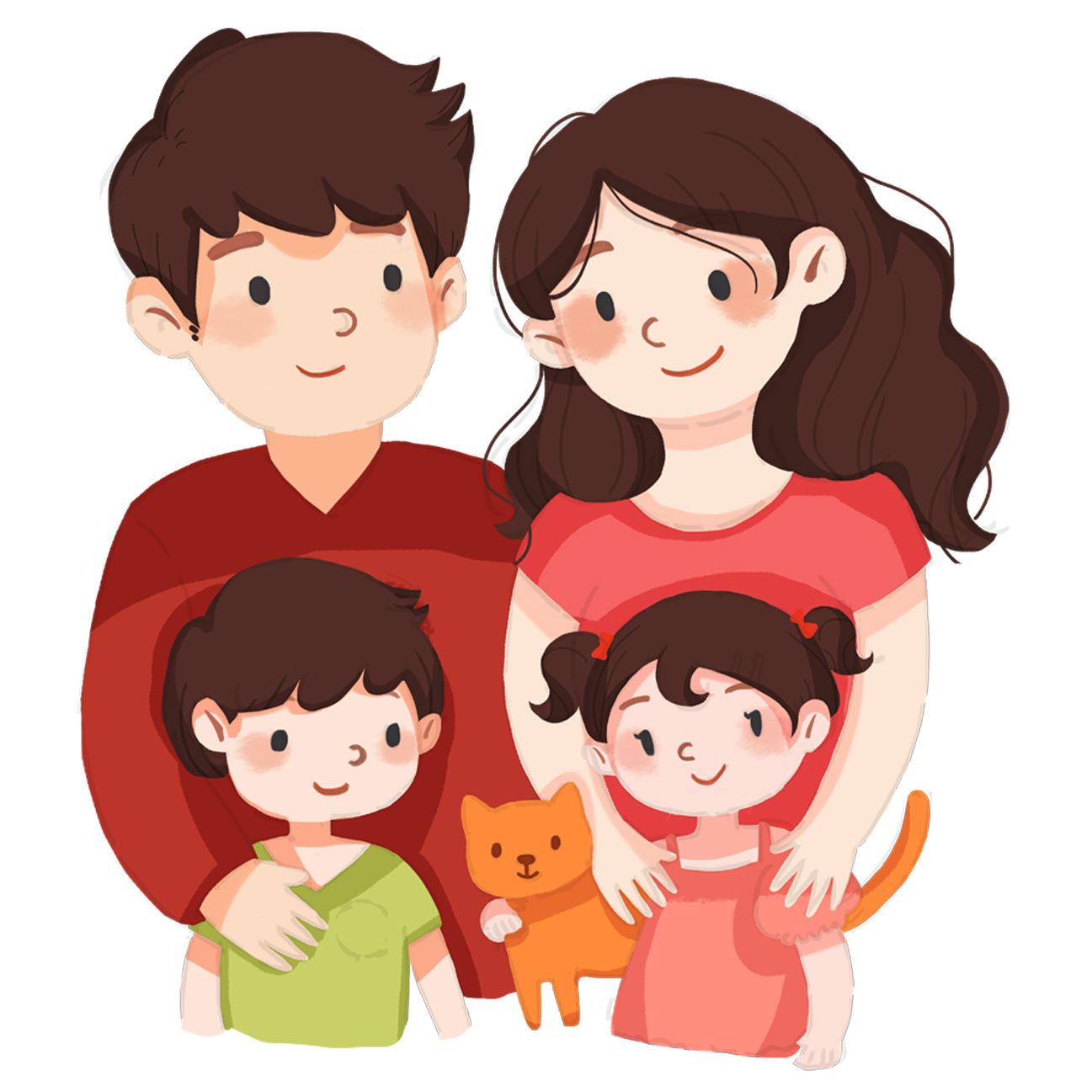 famille4 fd blc