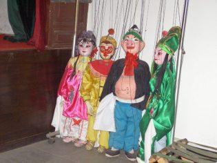 Wohnhof der Familie Gao Marionetten