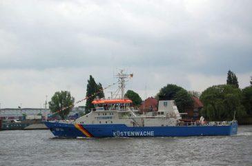 Hafengeburtstag 2014 Küstenwache