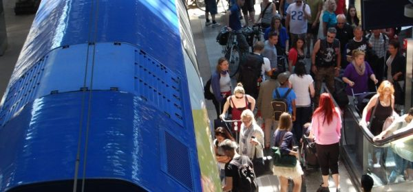 Hamburger Hauptbahnhof - Angst vor Terror?