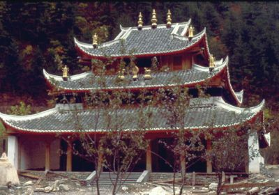 Jiuzhaigou Lama-Tempel