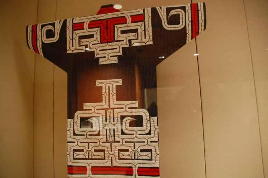 Gewand der Ainu
