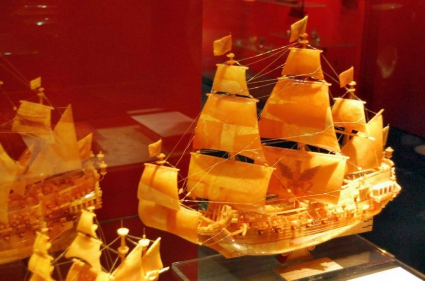 Maritimes Museum Bernsteinschiff