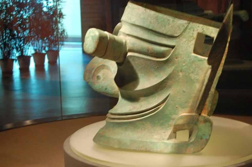 Sanxingdui Maske