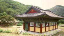 Chinan Tempel am Maisan Südkorea