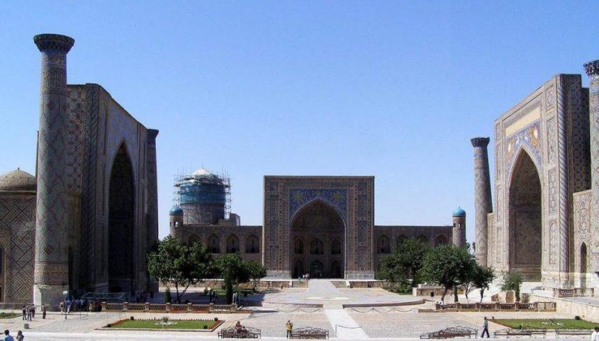 Samarkand Registan-Platz