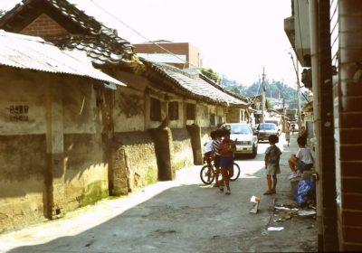 Strasse in Südkorea