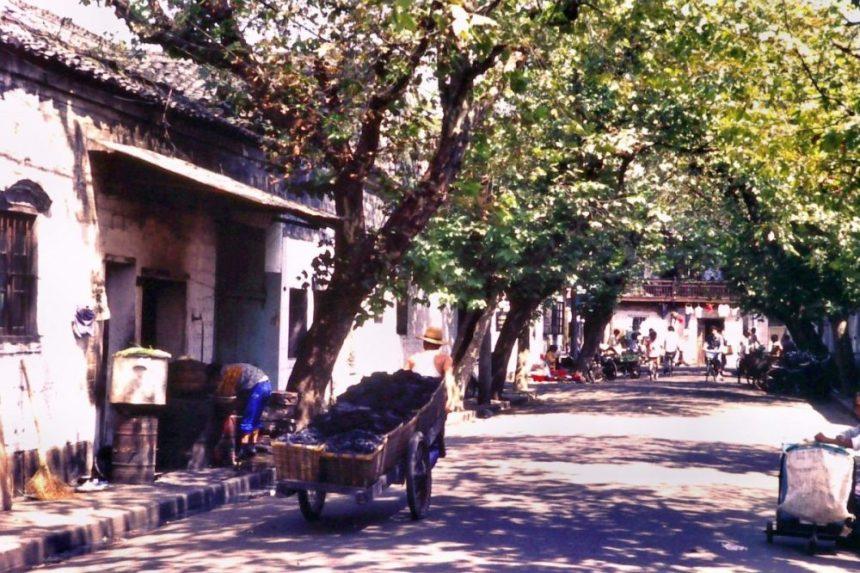 In der Altstadt von Ningbo 1991