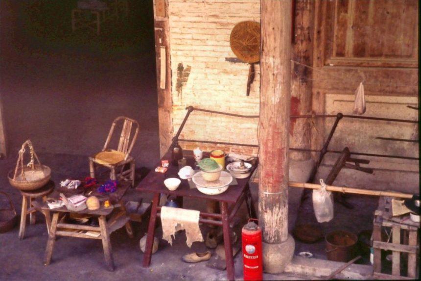 Altstadt von Ningbo 1991