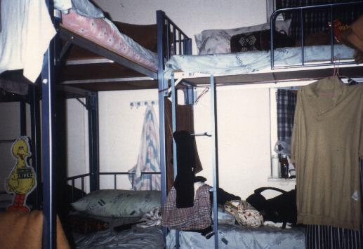 Frauenschlafsaal im Victoria-Hostel
