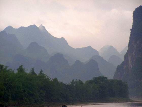 Li-Fluss bei Yangshuo 2011 Reisebericht aus Südchina