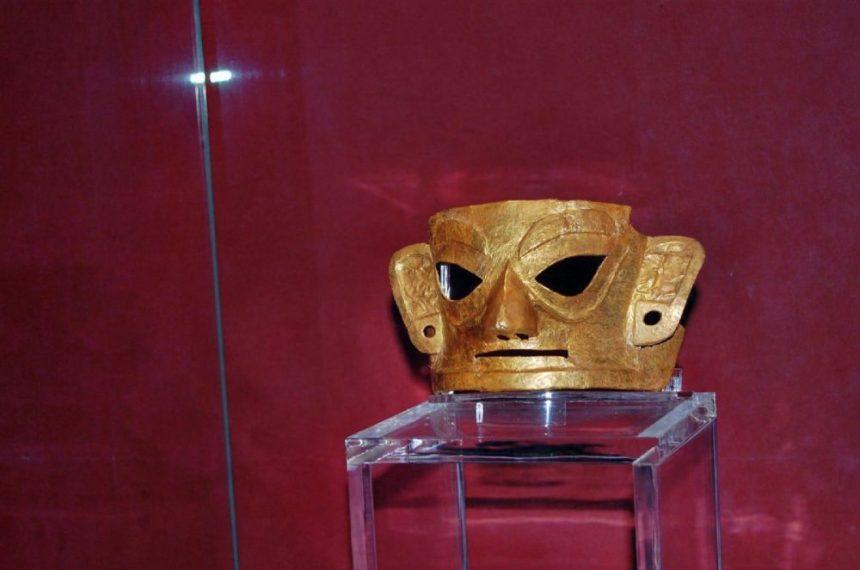 Goldene Maske der Jinsha-Kultur