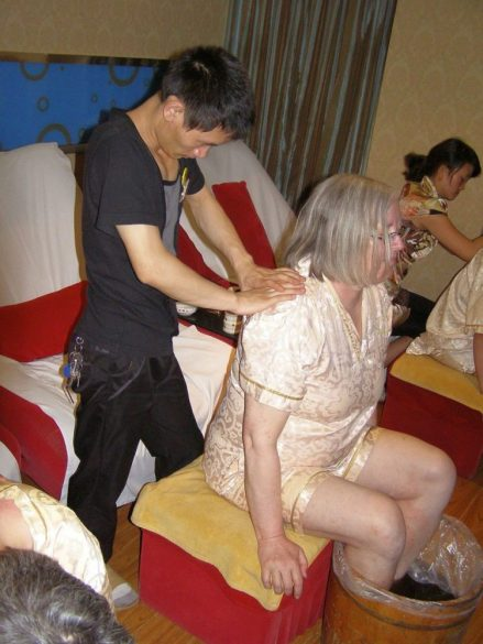 Massage in Kunming 2011