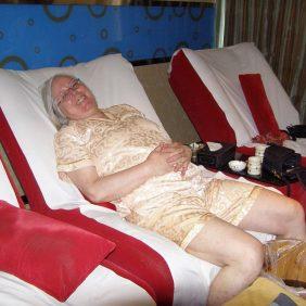 Entspannung bis zur Massage