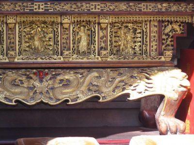 Altar im daoistischen Baiyun Tempel, Peking