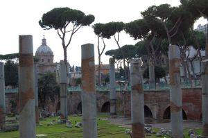 Blick aufs Forum Romanum