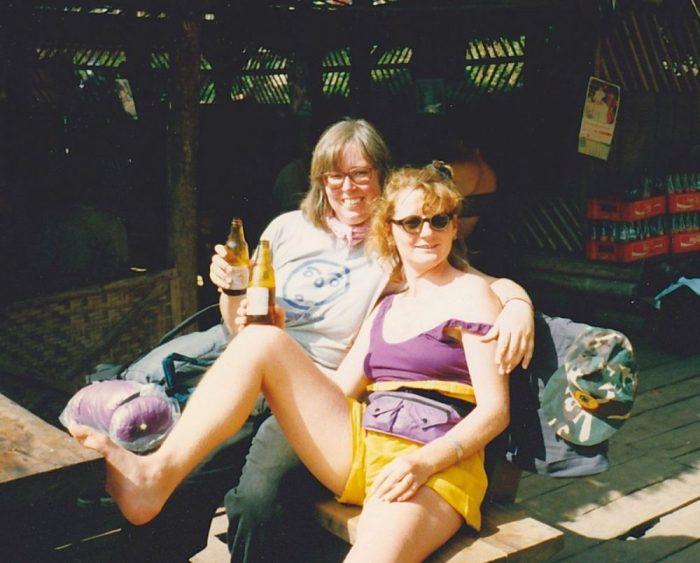 Nach der Trekking Tour - ein erfrischendes Bier