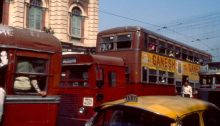 Verkehr in Calcutta