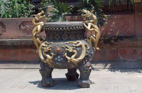Chengdu Bronzegefäß