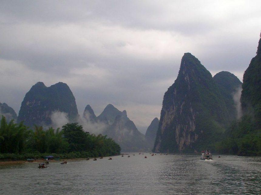 Li Fluss bei Yangshuo