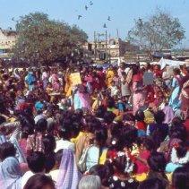 Frauenversammlung in Delhi
