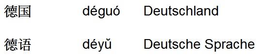 Deguo = Deutschland