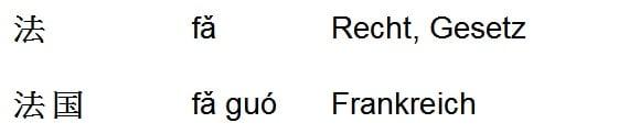 Faguo = Frankreich = Das Land des Gesetzes